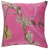 Realtree All Purpose APC Fuchsia Square Pillow - Back40Trading2