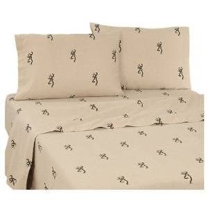 Browning Buckmark Sheet Set  Twin - Back40Trading2