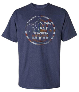 Smith Men's And Wesson Patriotic Logo T-Shirt - Back40Trading2