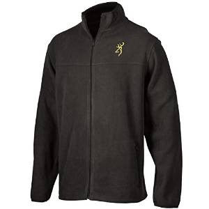 Browning® Mens Laramie Fleece Jacket-Black