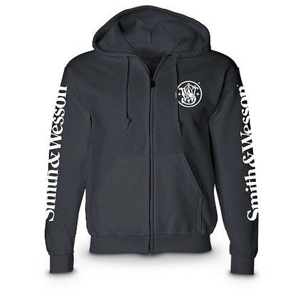 Smith & Wesson Zip-up Hooded Sweatshirt - Back40Trading2
