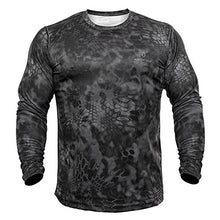 Kryptek Men's Hyperion T-Shirt Long Sleeve Polyester- Back40Trading2 - 1