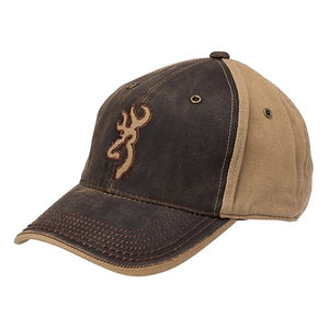 Browning Classic Hat, Flint, Brown -back40trading2