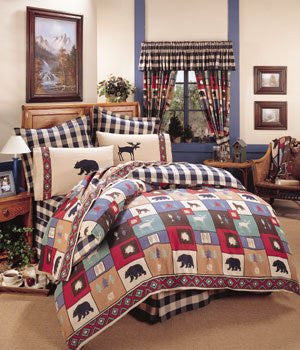 The Woods Comforter Set  King - Back40Trading2