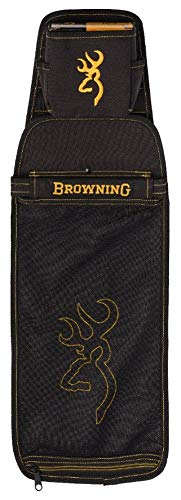 Browning Black and Gold Shell Pouch