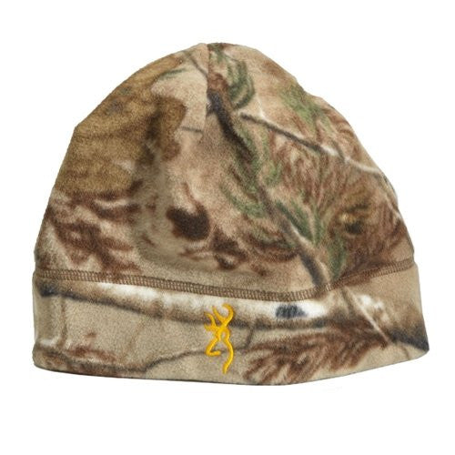 Browning Juneau Fleece Beanie, Realtree Xtra - Back40Trading2