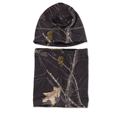 Browning Yukon Combo Beanie and Gator Mossy Oak Midnight - Back40Trading2