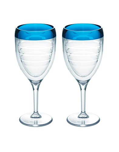 Tervis Blue infusion Wine Glass (2-Pack)- Back40Trading2