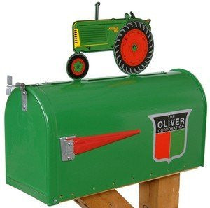 Oliver Rural Style Mailbox - Back40Trading2
