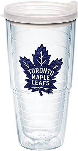 Tervis NHL Toronto Maple Leafs Primary Logo Tumbler 24oz, Clear