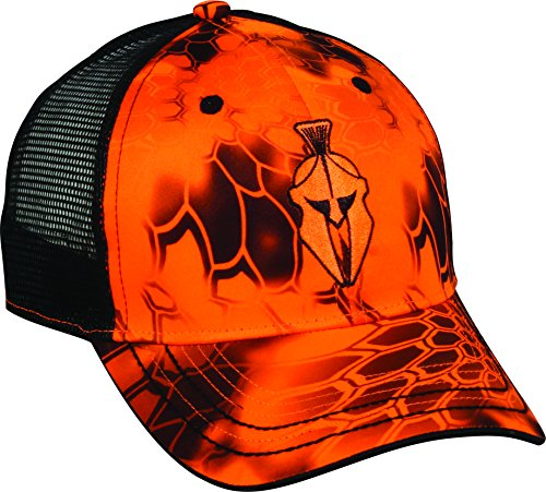 Outdoor Cap Mens Kryptek Performance Mesh Back Cap, Kryptek Inferno/Black, One Size Fits Most- back40trading2
