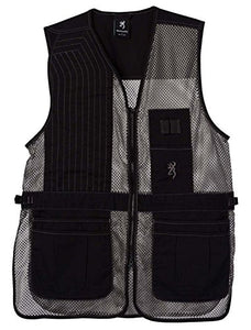 Browning Trapper Creek Shooting Vest-Gray - back40trading2 - 3