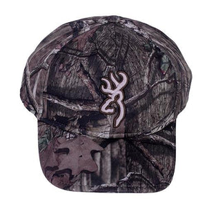Browning Brushed Fleece Cap, Mossy Oak Break-Up Country - Back40Trading2