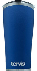 Tervis 30 Ounce Powder Coated Stainless Steel Collection Blue Tumbler