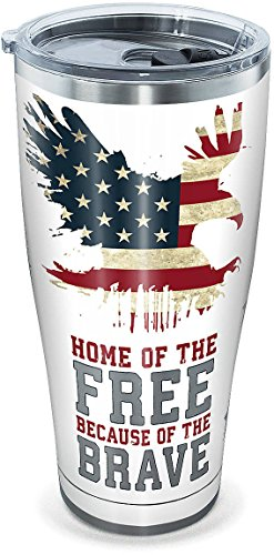 Tervis 30-oz. Stainless Steel Home Of The Free Tumbler- Back40Trading2