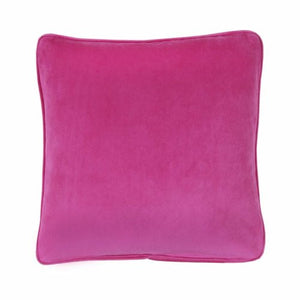 Flower Fantasy Square Pillow Fuchsia - Back40Trading2