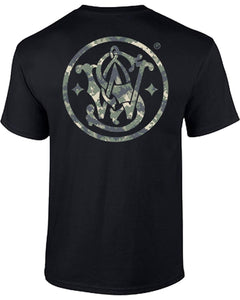 Men's Smith & Wesson Digi-Camo Logo Tee - Back40Trading2  - 3