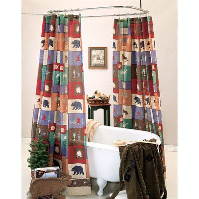 The Woods Shower Curtain - Back40Trading2