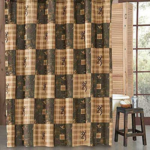 Browning Country Shower Curtain- Back40Trading2