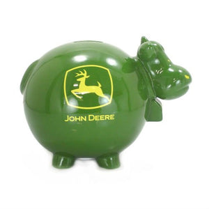 John Deere Cow Bank - Back40Trading2  - 2