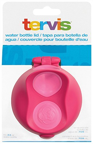 Tervis 24 oz. Pink Water Bottle Lid Tervis One Size