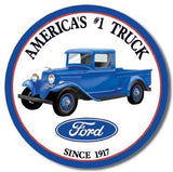 Tin Sign: Ford America's #1 Truck sign TD1009 Decorative Sign Plaque - Back40Trading2