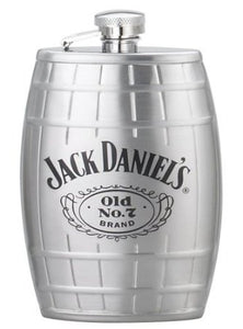 Jack Daniel's 6-Ounce Barrel Flask - Back40Trading2