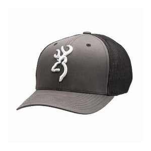 Browning Colstrip FF Cap, Charcoal, Small/Medium- Back40Trading2
