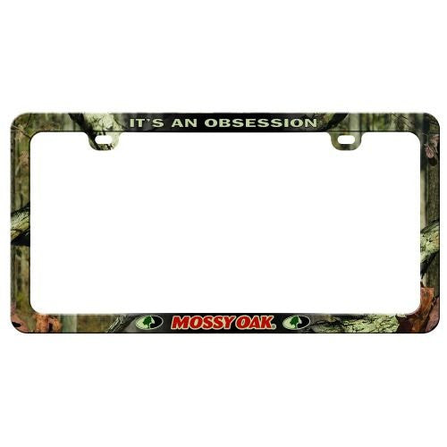 UNIVERSAL LICENSE PLATE FRAME MLF-2502 - INFINITY MOSSY OAK CAMO - Back40Trading2
