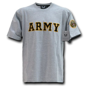 Rapid Dominance Army Applique Text Tee T-shirt- back40trading2 - 2
