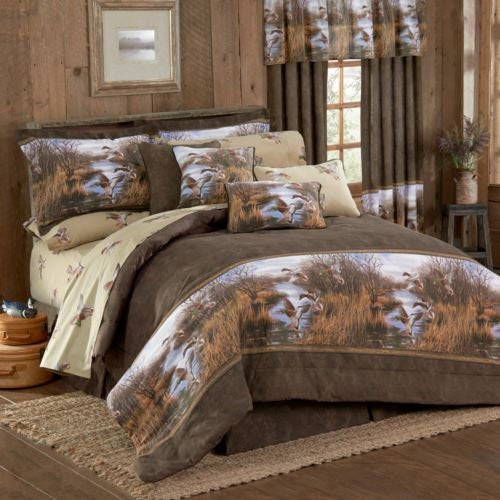 NEW Duck Approach Bedding Comforter Set - Back40Trading2