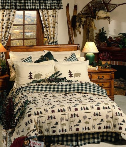 Northern Exposure Waterbed Housewares and Bedding Size: Super Twin - Back40Trading2