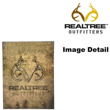 Realtree Outfitters Camo Garage Home Office Outdoor Tin Parking Sign - Back40Trading2  - 2