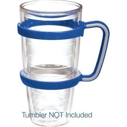Tervis Handle Blue/Gray 24 Oz- back40trading2