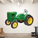 "John Deere 1937 Unstyled L Tractor Real Big Fathead Wall Decals 6'3""W x 4'3""H - Back40Trading2  - 2"