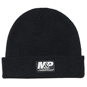 MP Black Knit Watch Hat - Back40Trading2