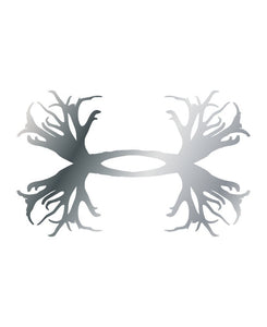 Under Armour UA Antler Logo Emblem Decals - 2 pack - Back40Trading2  - 1