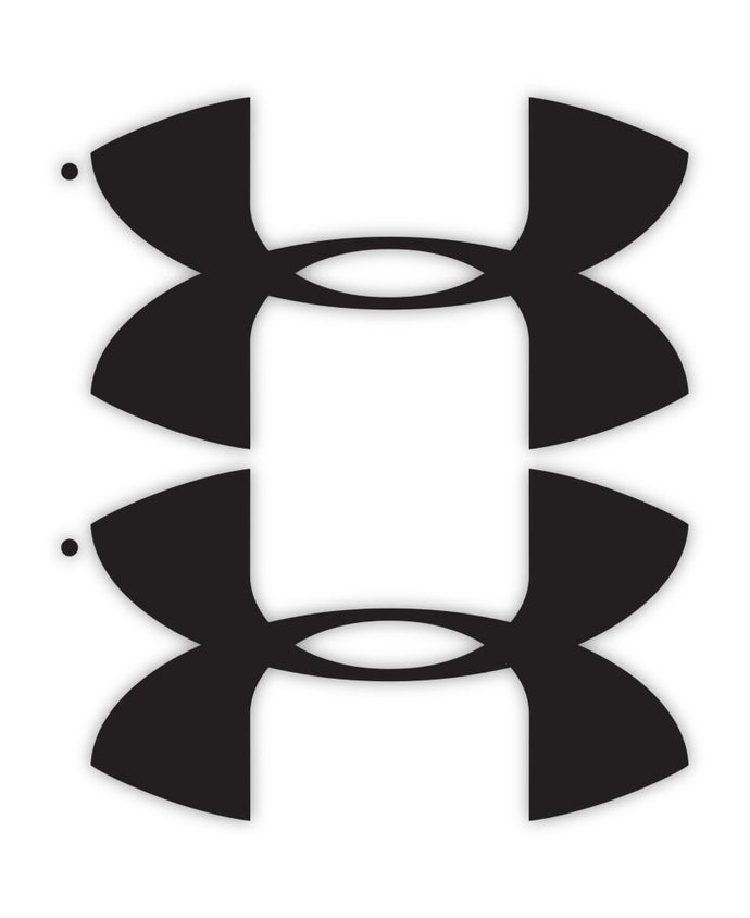 Under Armour UA Logo Decals - 2 pack - Back40Trading2  - 1