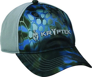 Outdoor Cap Men's Performance Unstructured Cap, Kryptek Neptune/Grey, One Size-back40trading2