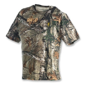 Browning 3011252405 Wasatch Short Sleeve T-Shirt, Realtree 2X-Large- back40trading2