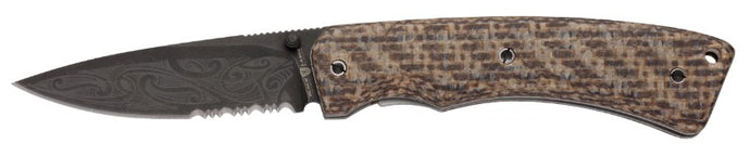 Browning Wihongi Micarta Folder Knife-Small- Back40Trading2