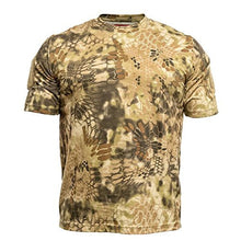 Kryptek Men's Stalker T-Shirt Short Sleeve Cotton Highlander Camo-back40trading2 - 1