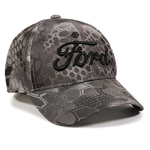 Outdoor Cap Men's Ford Kryptek Raid Camo Cap- Back40Trading2