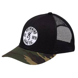 Browning 308365991 Cap, Prime, black/Camouflage-back40trading2