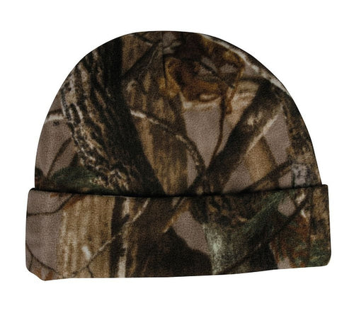 Realtree XTra Green Hunting Camo Knit Cuffed Winter Beanie Hat - Back40Trading2
