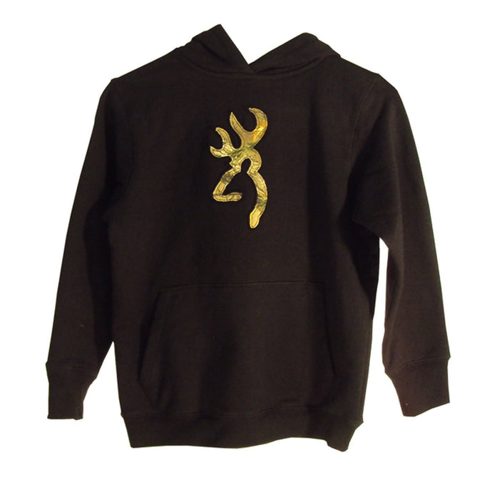 Browning Youth Realtree Xtra Camo Buckmark Sweatshirt - Back40Trading2  - 1