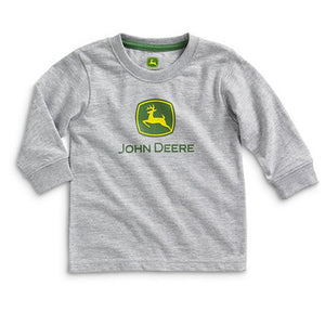 John Deere Little Boys' Long Sleeve Tee Grandpas Little Farmhand - Back40Trading2