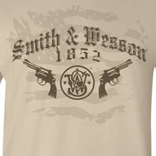 Smith & Wesson Men's Firearms T-Shirt - Back40Trading2  - 2