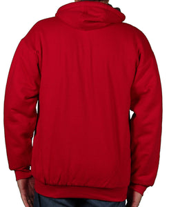 Case IH Men's Sherpa-Lined Embroidered Logo Hoodie - Back40Trading2  - 4