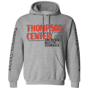 Thompson/Center Men's America's Master Gunmaker Logo Hooded Sweatshirt - Back40Trading2